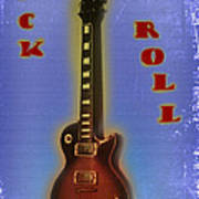 Rock And Roll - Les Paul Art Print