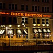 Rock Bottom - Milwaukee  Art Print