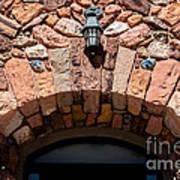 Rock Church Stone Archway - Cedar City - Utah Art Print
