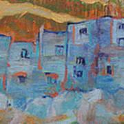 Rock City Abstract Art Print