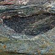 Rock Formation 1a Art Print