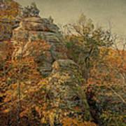 Rock Formation Art Print