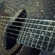 Rock Guitar Art Print