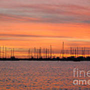 Rock Hall Sunset II Art Print