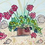 Rock Path Art Print