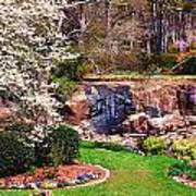 Rock Quarry Garden Art Print