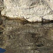 Rock Reflection Art Print