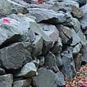 Rock Walls Art Print