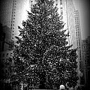 Rockefeller Christmas Tree Art Print