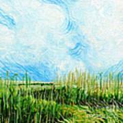 Rockefeller Coastal Marsh Louisiana  Art Print