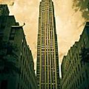 Rockefeller Tower Art Print