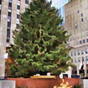 Rockefeller Tree Art Print