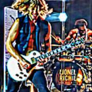 Rockin Guitarist Art Print