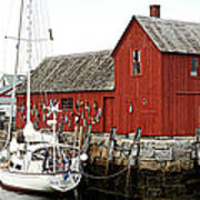 Rockport - Motif Number 1 Art Print