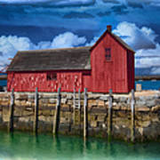 Rockports Motif Number 1 Painting Art Print