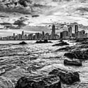 Rocks By The Sea Art Print