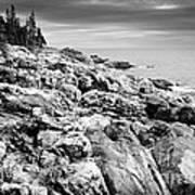 Rocks Of Acaida Art Print