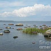 Rocks On The Baltic Sea Art Print