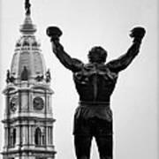 Rocky And Philadelphia Art Print