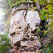 Rocky Cliff Wildcat Den Muscatine Ia 1 Art Print
