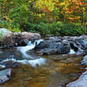 Rocky Creek Above Rocky Falls 1 Art Print