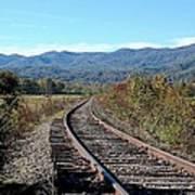 Rocky Creek Railroad Art Print