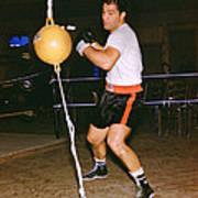 Rocky Marciano Training Art Print