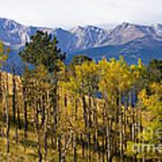 Rocky Mountain Autumn Art Print