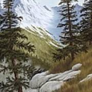 Rocky Mountain Solitude Art Print