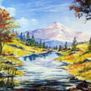 Rocky Mountain Stream Art Print