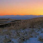 Rocky Mountain Sunset Art Print