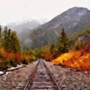 Rocky Mountaineer Art Print