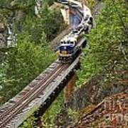 Rocky Mountaineer Railway Art Print