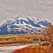 Rocky Mountains In Montana Art Print