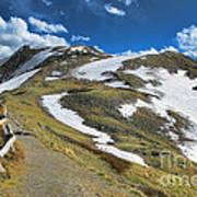 Rocky Mountains Path Art Print