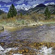 Rocky Mountains Art Print by Tom Wilbert