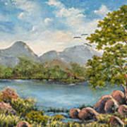 Rocky Outcrop Art Print