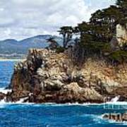 Rocky Outcropping At Point Lobos Art Print