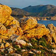 Rocky Point And Bixby Bridge Big Sur California Art Print