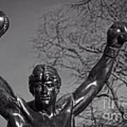 Rocky Statue Art Print