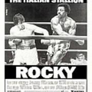 Rocky, Us Poster, Sylvester Stallone Art Print