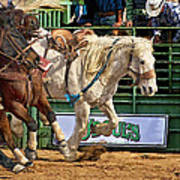 Rodeo Action Art Print