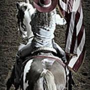 Rodeo America Art Print