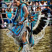 Rodeo Indian Dance Art Print