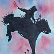 Rodeo No 1 Art Print