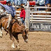 Rodeo Ride Art Print