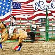 Rodeo Print by Terry Cotton