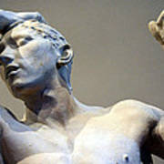 Rodin's The Vanguished Up Close Art Print
