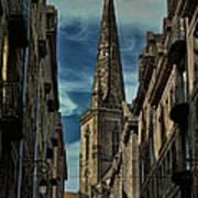 Cathedrale Saint-vincent-de-saragosse De Saint-malo Art Print