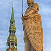 Roland Of Riga Painting Art Print